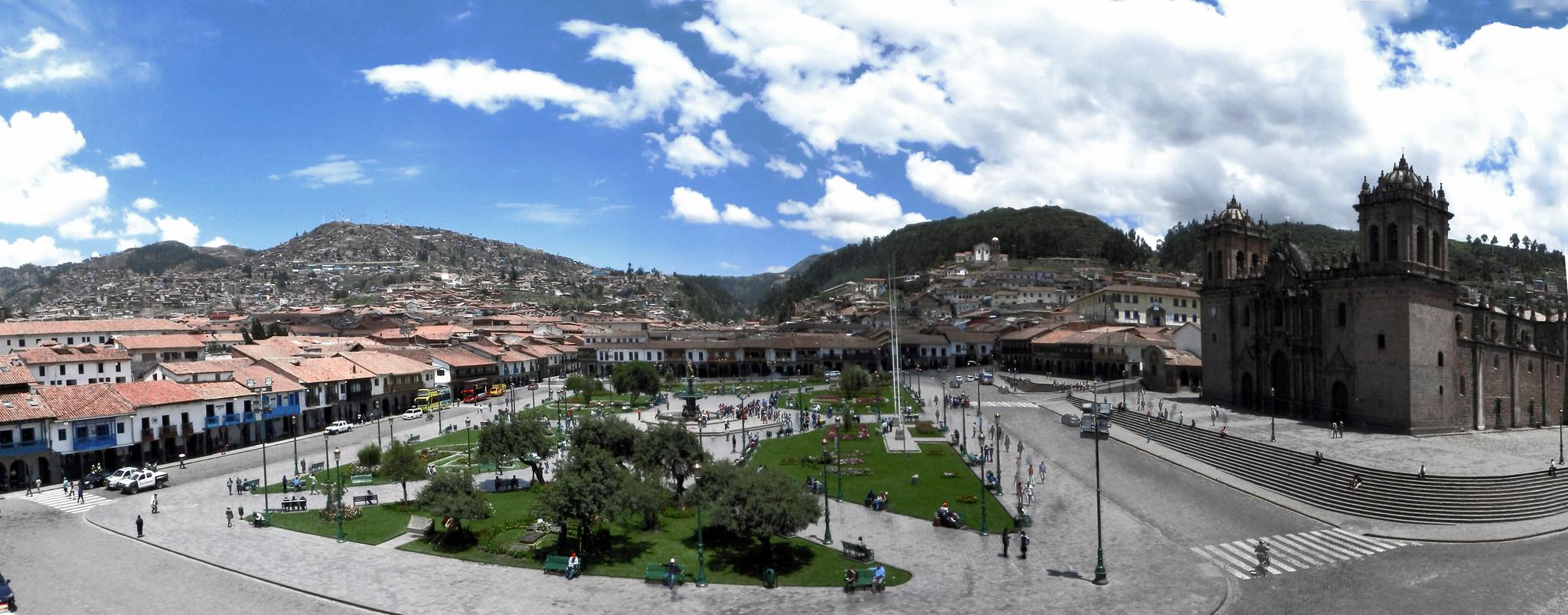 Cuzco Plaza de Armas Peru