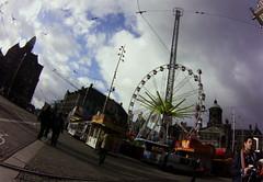 Amsterdam faire on Dam Square