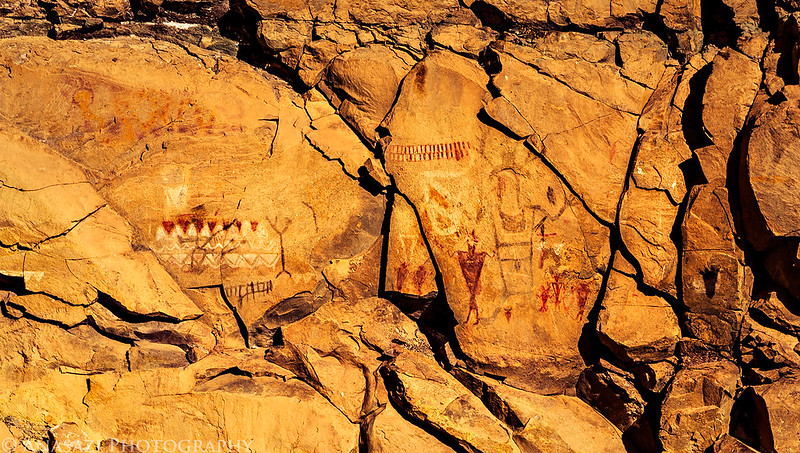 Alcove Pictographs