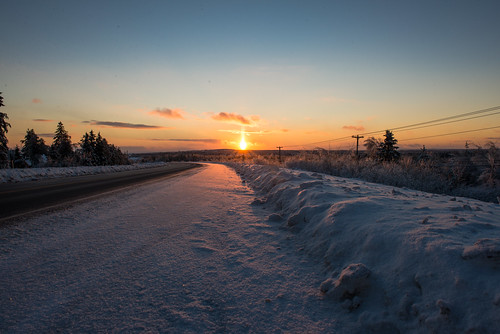 canada moncton newbrunswick shawnharquail sunset travel ice shawnharquailcom snow winter