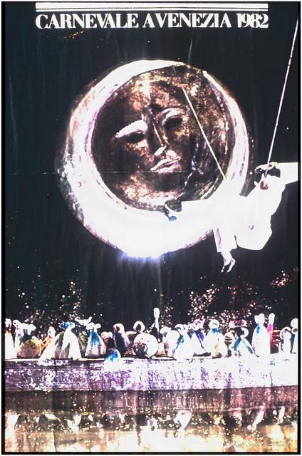 Original poster from the Carnevale a Venezia 1982