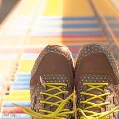 秋色の靴を履いて by Noël Café