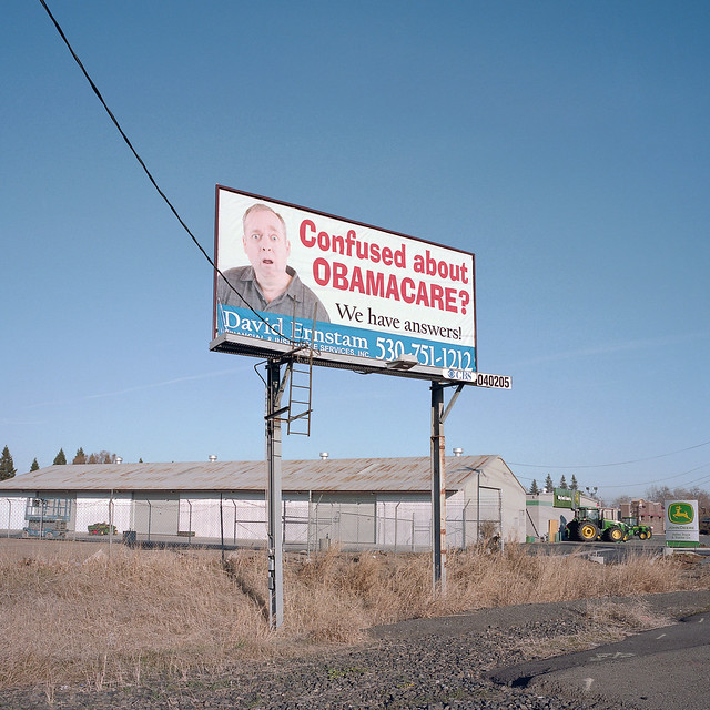 confused about obamacare? yuba city, ca. 2013.