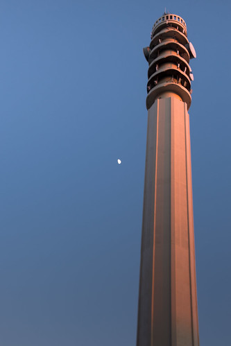 canada light moon shawnharquail tower travel blue shawnharquailcom newbrunswick