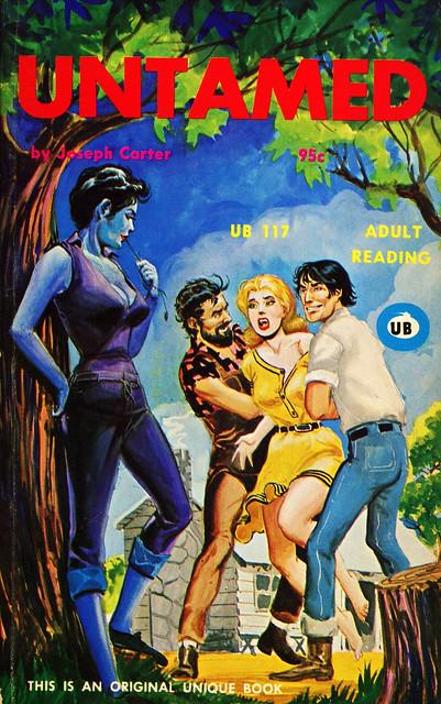 Unique Books 117 - Joseph Carter - Untamed