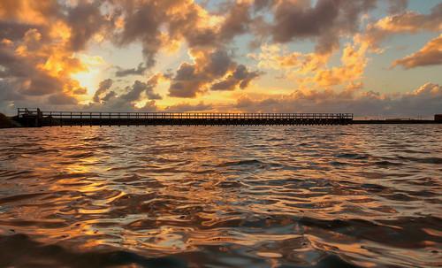 aveirolagoon aveiro portugal europe sunset colourfulsunset ripple