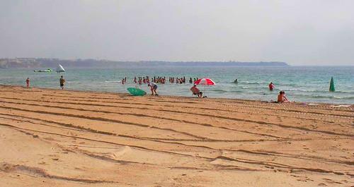 La playa, que un amigo llama de Caja de Ahorros