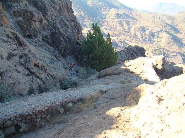Senderismo Gran Canaria Llanos de la Pez Cruz Grande  16