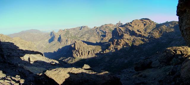 Senderismo Gran Canaria Llanos de la Pez Cruz Grande  09 panoramica