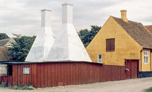 Smokehouse, Listed, Bornholm, Denmark in 1961