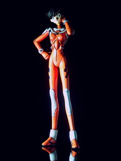Neon Genesis Evangelion [Doujinshi] 1:6 Reiko Sugiyama in plugsuit (kit conversion) - on black | by dizzyfugu