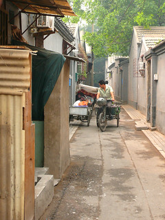 Deliveries in the hutongs, Beijing, China