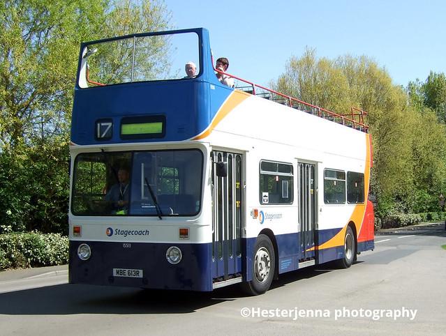 Still In Service 15513 on loan to Grimsby