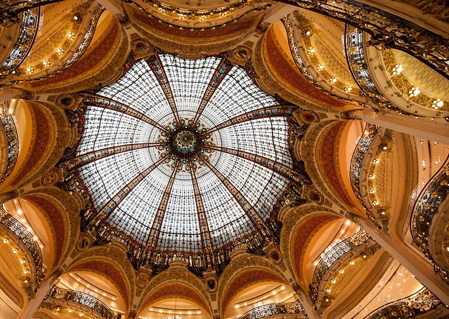 Dome, Galleries Lafayette, Paris