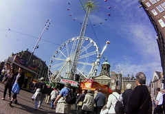 Fairground on Dam Amsterdam