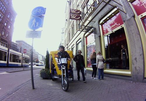 Amsterdam, Rokin, Madame Tussauds