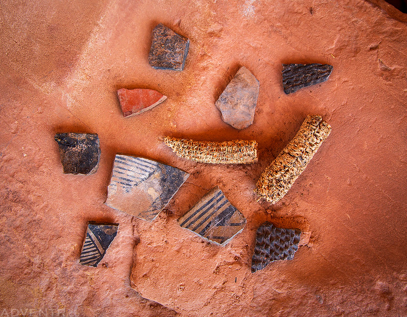 Corn Cobs & Pot Sherds