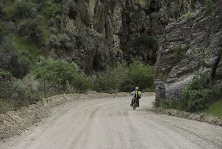 Rocky canyon