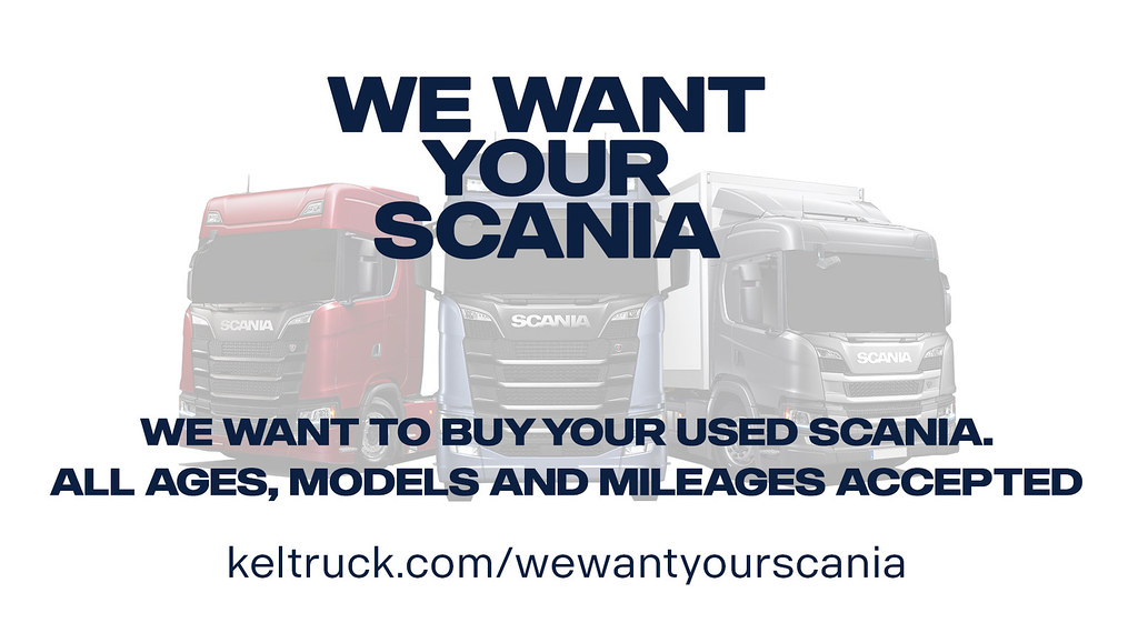 We want your Scania