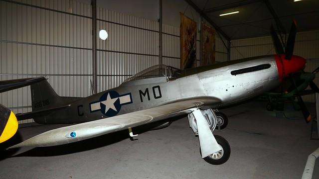 North American NA-122 P-51D-20-NA Mustang 44-63871 in Paris