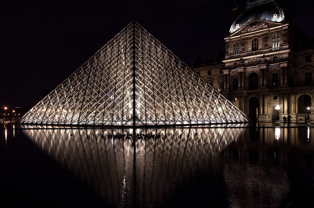 Le Louvre at Night