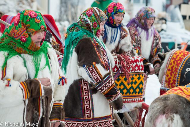 Women In Yagushkas At Yar Sale Festival