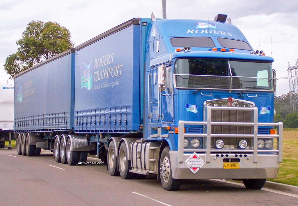 Rogers Transport Kenworth K108