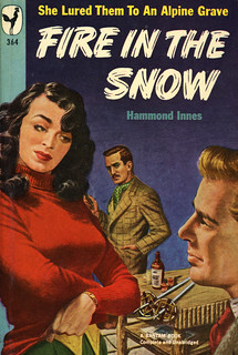 Bantam Books 364 - Hammond Innes - Fire in the Snow