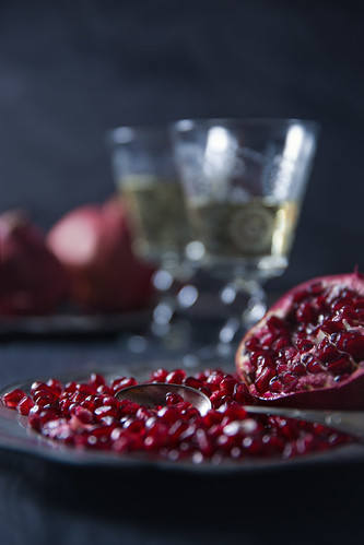Pomegranate in Mystic Light | by Vicco Gallo