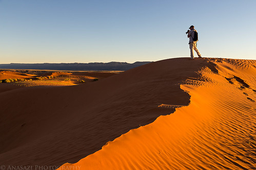 Photographing Dunes   by IntrepidXJ