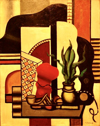 Nature morte (1928) -  Fernand Léger (1881-1955) | by pedrosimoes7