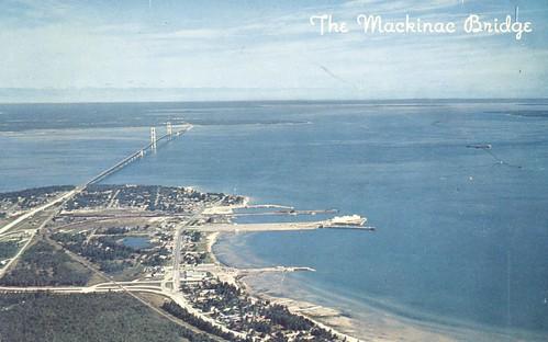 The Mackinac Bridge - Mackinaw City, Michigan