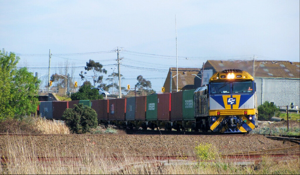 CF4411+CF4412+442s5 with train# 7MC1 by Adam Serena
