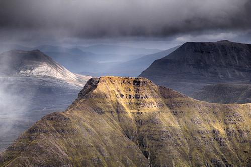 mountain scotland corbett torridon munro beinneighe beinnalligin sgurrmhor beinnachearcaill ruadhstacmhor stuclochnacabhaig