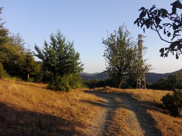 Tramonto alle Capanne di Marcarolo (Campo Ligure)