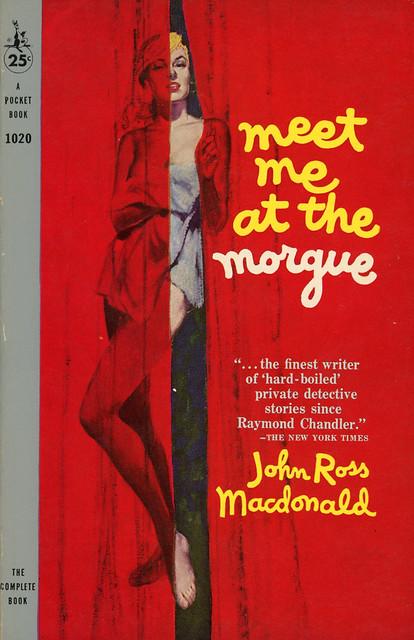 Pocket Books 1020 - John Ross Macdonald - Meet Me at the Morgue