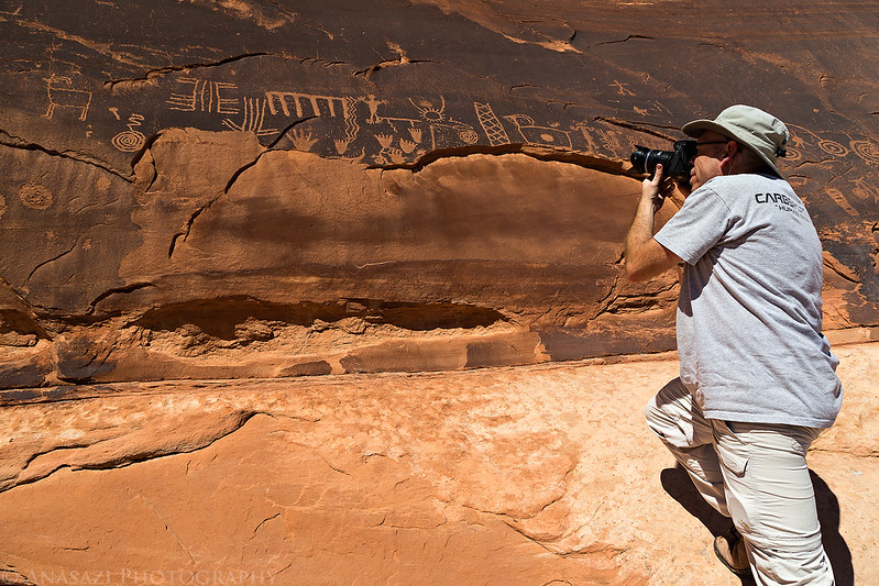 Photographing Petroglyphs