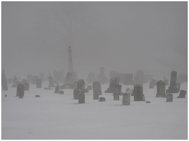 Fog @ White Oak Cemetery, Armstrong County, PA