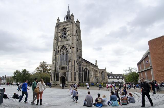 Norwich St Peter Mancrofts - city centre church