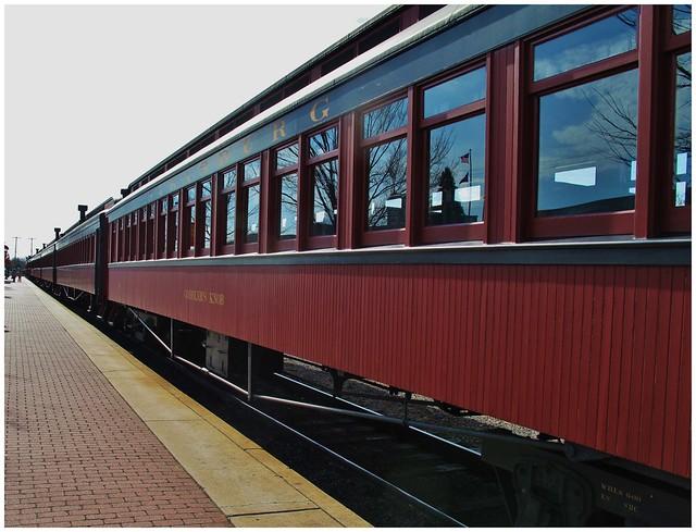 Railroad passenger cars @ Strasburg, PA (HWW)