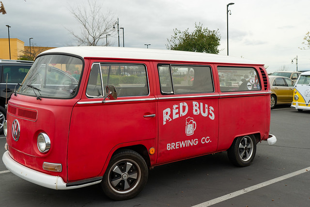 Red Bus Brewing Co., Folsom, California
