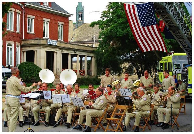 Kittanning Firemen's Band, Celebrating @ Kittanning, PA