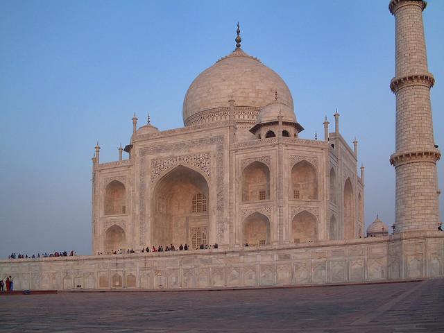 Agra, Taj Mahal, 28/11/2003