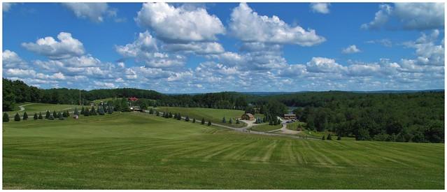 Site of 1969 Woodstock Music Concert @ Bethel Woods Arts, New York