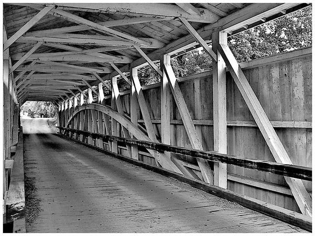 Banks covered bridge, New Wilmington, Pennsylvania
