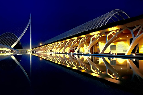 City of Arts and Sciences, Valcencia, Spain, European Community