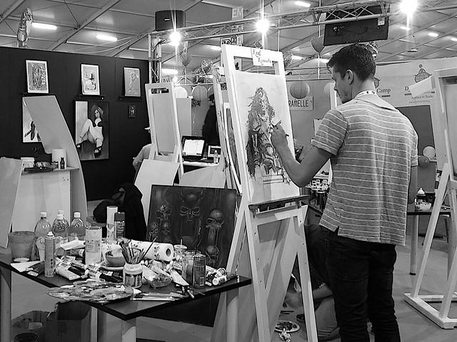 Arte al Lucca Comics and Games 2014
