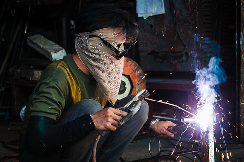 The Welder | by Mark Fischer