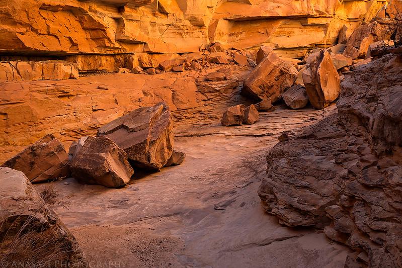Side Canyon Hiking