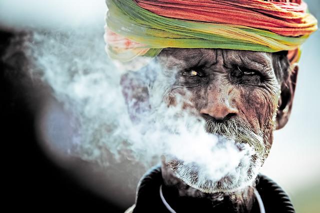 Rajasthani Clint . . . Pushkar-20131107-1027-BK2W9937-Edit